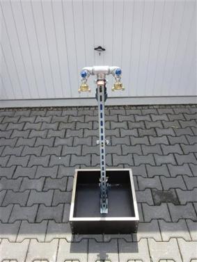 Bauwasser Frostsicher